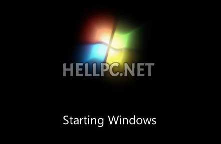 Windows7 starting