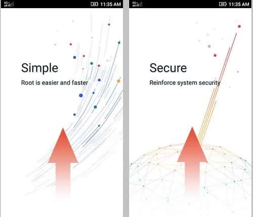 Swipe up on Introduction Slides