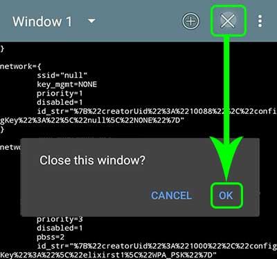Close the Terminal App