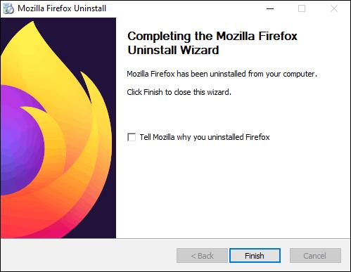 Exit Uninstallation Wizard After Uninstalling The Program
