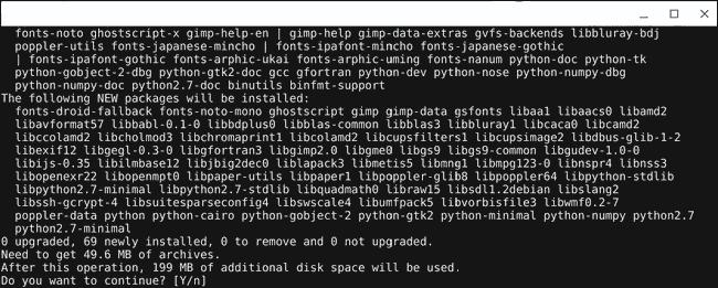 Install Gimp Editor Via Linux Terminal On Chromebook