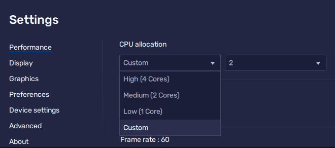 Manually Allocate To Increase Cpu In Bluestacks 5