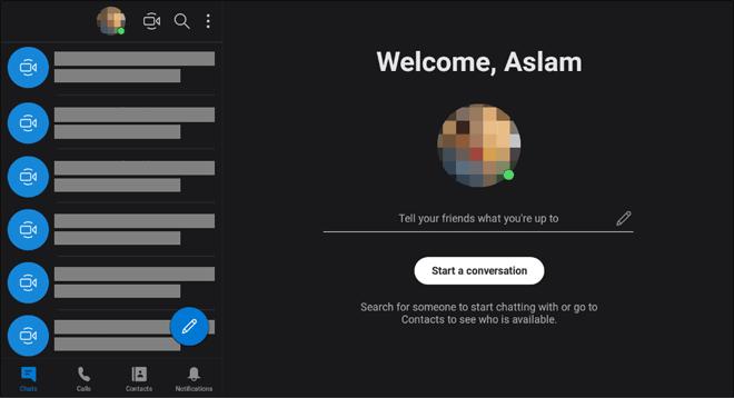 Use Skype On Chromebook Using Android App